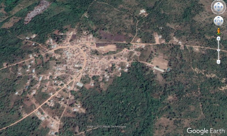 Non Digitised African Village